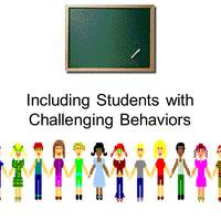 Including Students with Challenging Behaviors using Technology