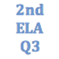 2nd Grade English Language Arts Q3 Curriculum