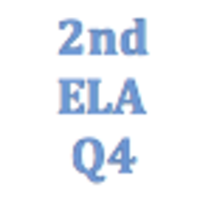 2nd Grade English Language Arts Q4 Curriculum