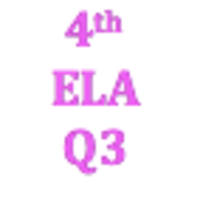 4th Grade English Language Arts Q3 Curriculum