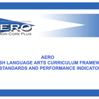 This LiveBinder is directed to educators interested in learning about the AERO English Language Arts Framework.