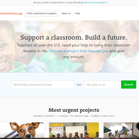 DonorsChoose Resources