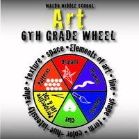 Exploring Art 6th Grade Wheel