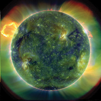 Heliophysics and Particle Physics