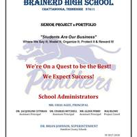 Copy of Brainerd High School - Senior Project Portfolio