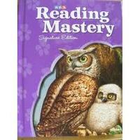 Reading Mastery Placement Tests