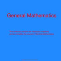 General Math