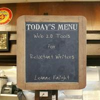 Copy of Web 2.0 Tools for Reluctant Writers