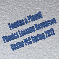 Fountas & Pinnell Phonics Lessons Resources