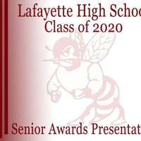2020 Lafayette High School Senior Awards