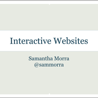 Interactive Websites