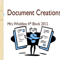 Document Creations