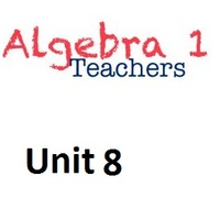 Common Core Algebra 1 Unit 8 Exponential Functions and Equations