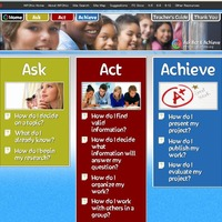 This is the teacher's guide for INFOhio's ASK ACT and ACHIEVE site.