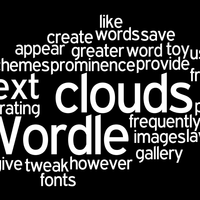 Word Clouds and Text Generators