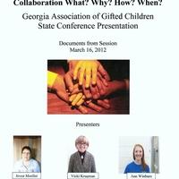 GAGC Collaboration Presentation Documents