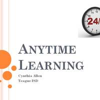 Anytime Learning