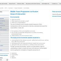 MYP Unit Planner with hyperlinks