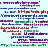 Vocabulary Teaching Tools