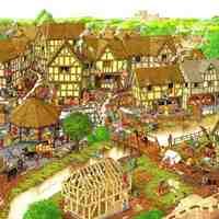Medieval Village Geometry
