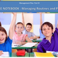 Management Plan Part IV
