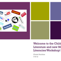 Teachers- Integrating Children's Literature & New Media Literaci