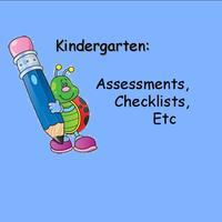 Kindergarten Developmental Assessments Resources