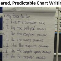 Shared Predictable Chart Writing