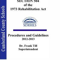 Section 504 Manual