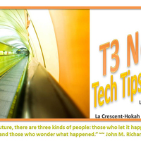 T3 Newsletters, 2012-13 School Year