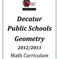 DPS61 Geometry  Math Common Core Curriculum