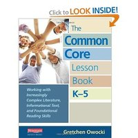 CCSS Resources for ELA from the Common Core Lesson Book