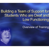 OLD - Building a Team of Support LFD