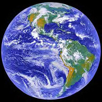 The Earth, Moon, and Sun