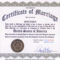 Common-Law Marriage