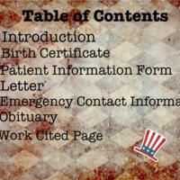 Patient : Abraham Lincoln