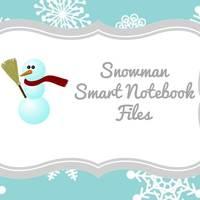 Snowman Smart Notebook Files