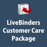 LiveBinders Customer Care Package