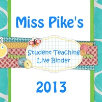 Student Teaching Live Binder