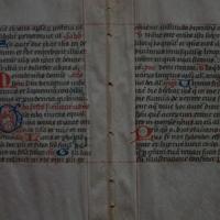 Latin and Greek Manuscripts