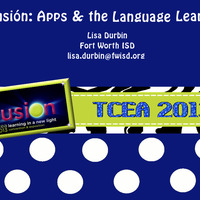 Apps for Creativity and the Language Learner