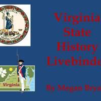 Virginia  State History Livebinder