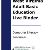 This binder includes a collection of resources for teaching basic computer skills..
