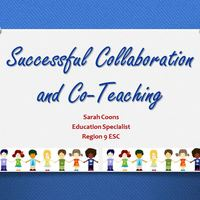 Successful Collaboration & Co-Teaching