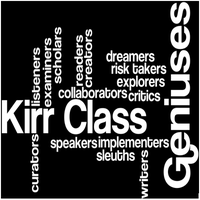 Final Product Ideas for Mrs. Kirr's Class