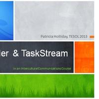Utilizing LiveBinder and TaskStreaming in an Intercultural Commu