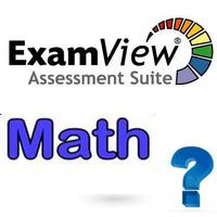 ExamView - Math - Question Banks (Grades 4-7)