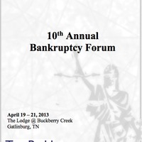 10th Annual Bankruptcy Forum