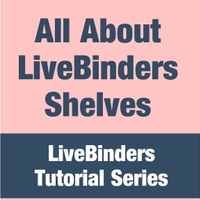 LiveBinders Shelves