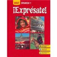 Spanish 1 - ��Expr��sate!